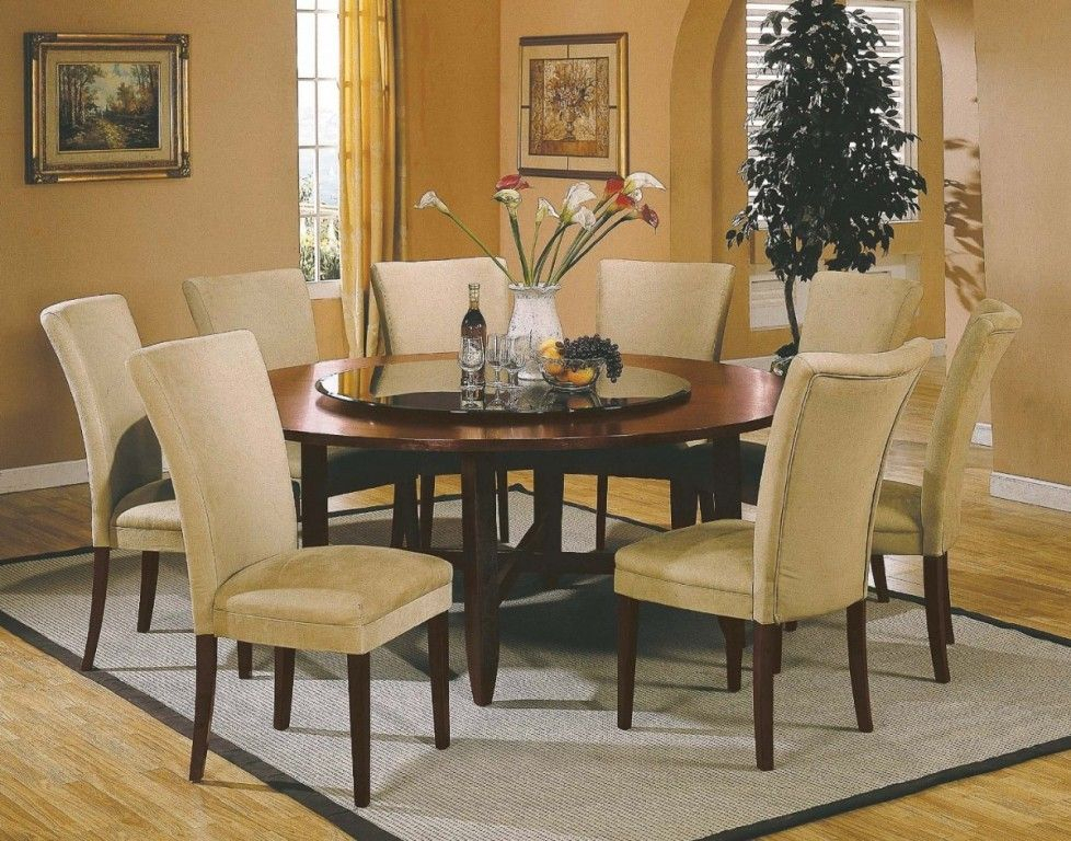 25 Elegant Dining Table Centerpiece Ideas | House | Large Pertaining To Elegance Large Round Dining Tables (Image 2 of 25)