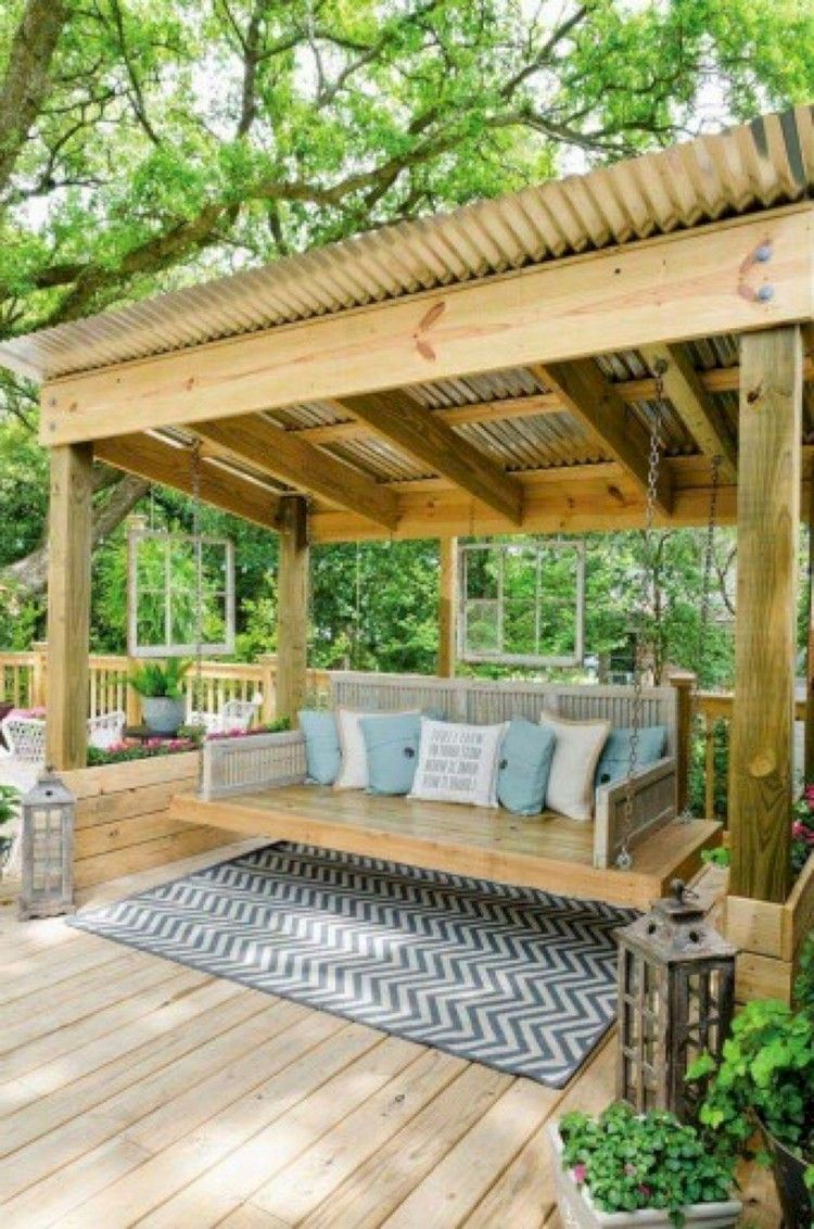 27 Finest Rural Porch Swing Ideas For Backyard – Page 29 Of In Patio Gazebo Porch Swings (View 7 of 25)