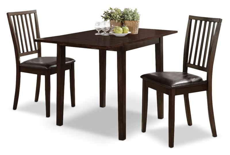 Featured Image of 3 Pieces Dining Tables And Chair Set