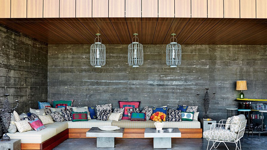 32 Patio Ideas: Outdoor Seating Ideas For Backyards Throughout Rustic Country 8 Seating Casual Dining Tables (View 25 of 25)