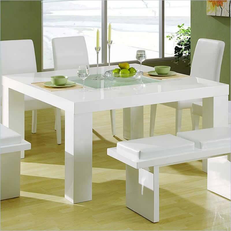 38 Types Of Dining Room Tables (Extensive Buying Guide) In Contemporary 4 Seating Square Dining Tables (View 23 of 25)