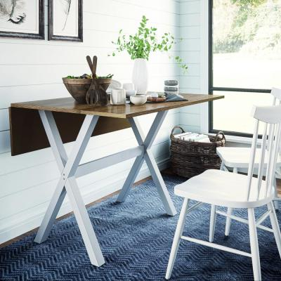 4 Person – Oak – Kitchen & Dining Tables – Kitchen & Dining Throughout Transitional 4 Seating Double Drop Leaf Casual Dining Tables (View 6 of 25)