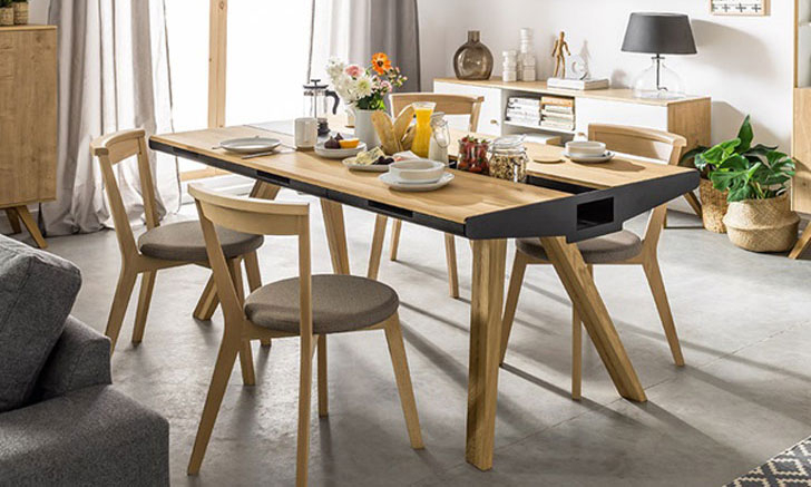 40+ Coolest Unique Dining Tables You Can Buy – Awesome Stuff 365 With Small Dining Tables With Rustic Pine Ash Brown Finish (View 11 of 25)
