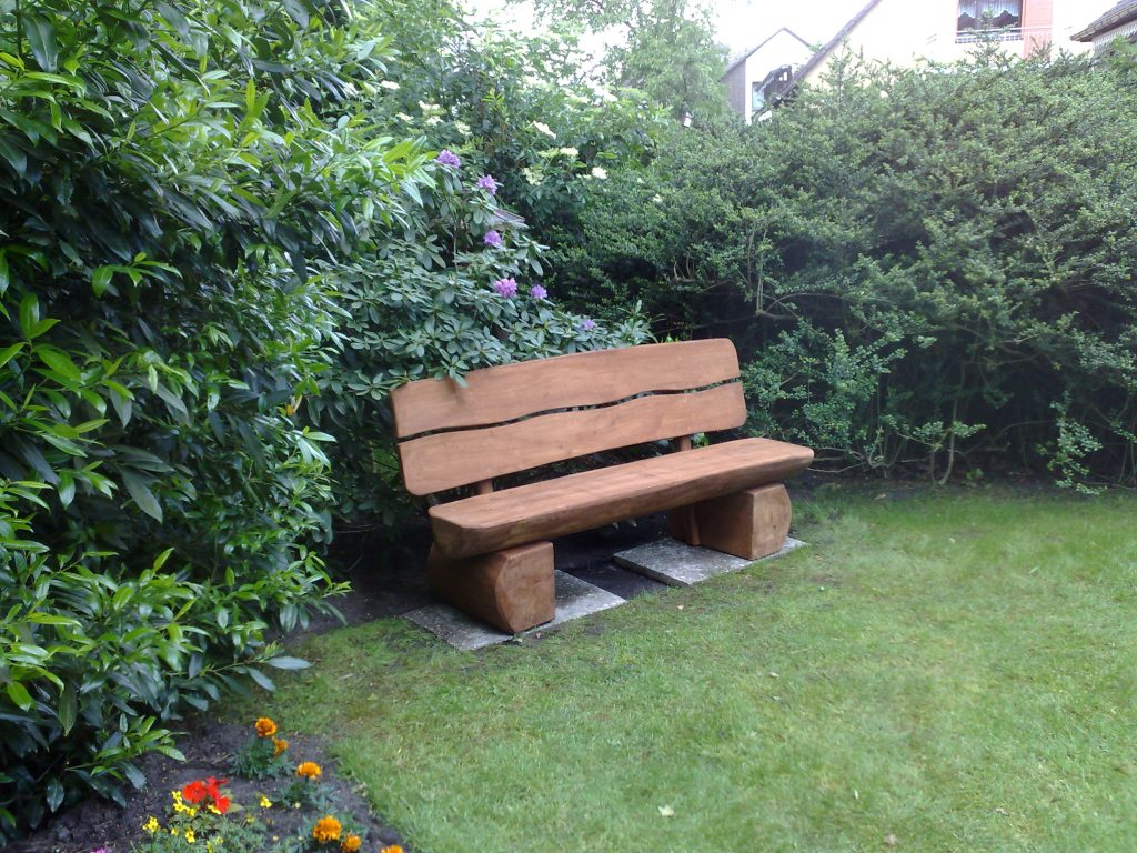 45 Wood Garden Bench Ideas – Woodworking24Hrs In Wood Garden Benches (View 23 of 25)