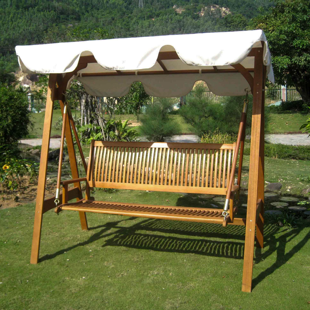 5 Ways To Use A Porch Swing Regarding Pergola Porch Swings With Stand (View 20 of 26)