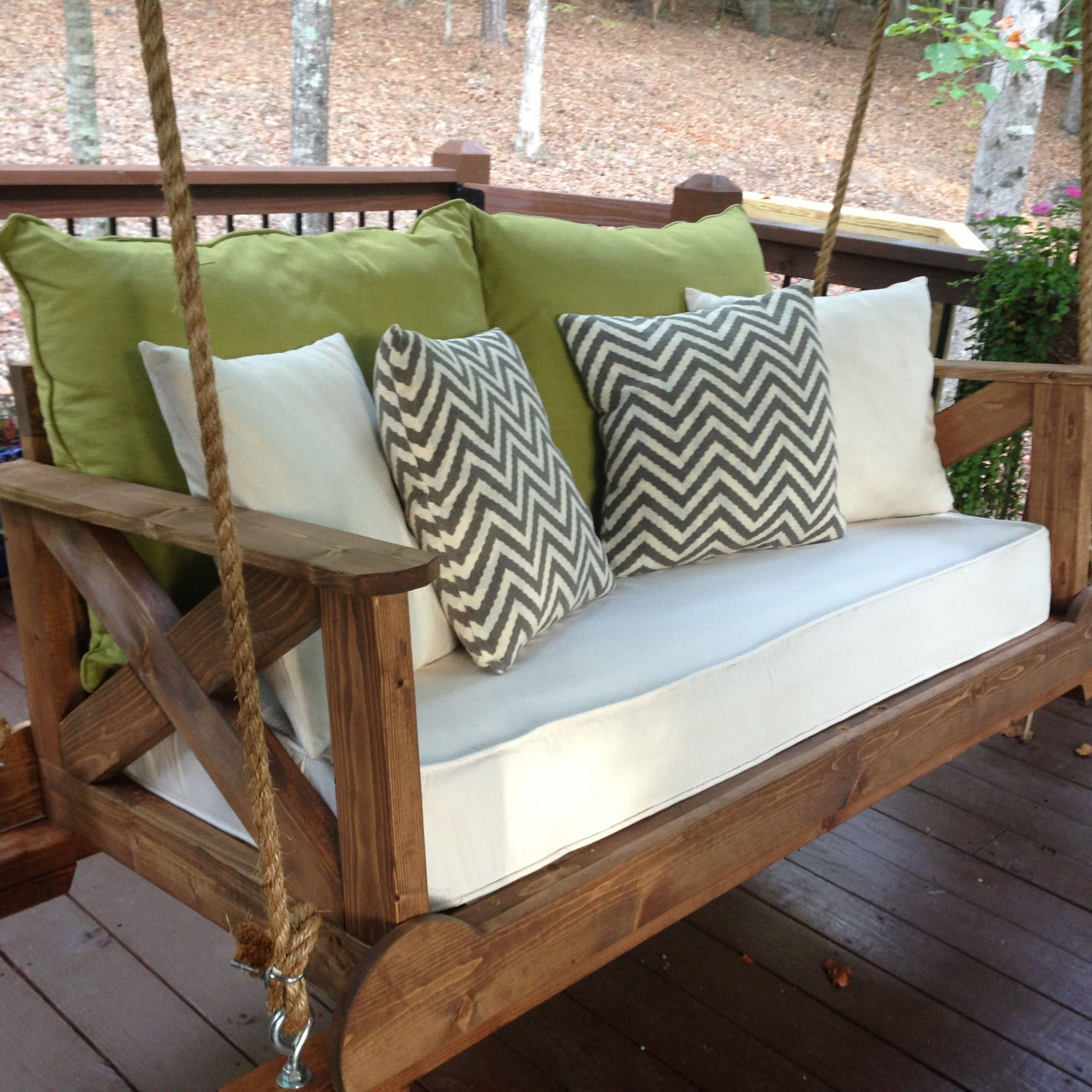 56 Diy Porch Swing Plans [Free Blueprints] | Porch Swing With Porch Swings (View 2 of 25)