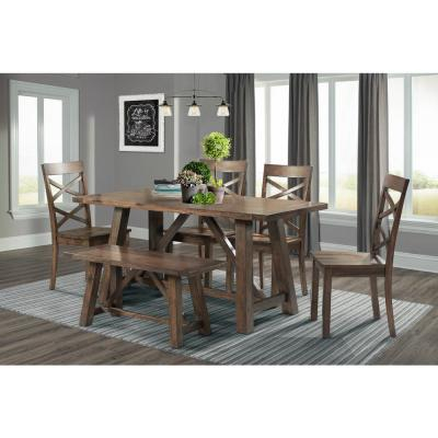 6 People – Dining Room Sets – Kitchen & Dining Room Throughout Transitional 6 Seating Casual Dining Tables (Image 2 of 25)