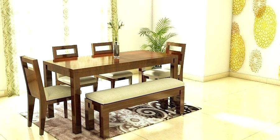 6 Seat Dining Room Table – Axisti With Contemporary 6 Seating Rectangular Dining Tables (View 6 of 25)