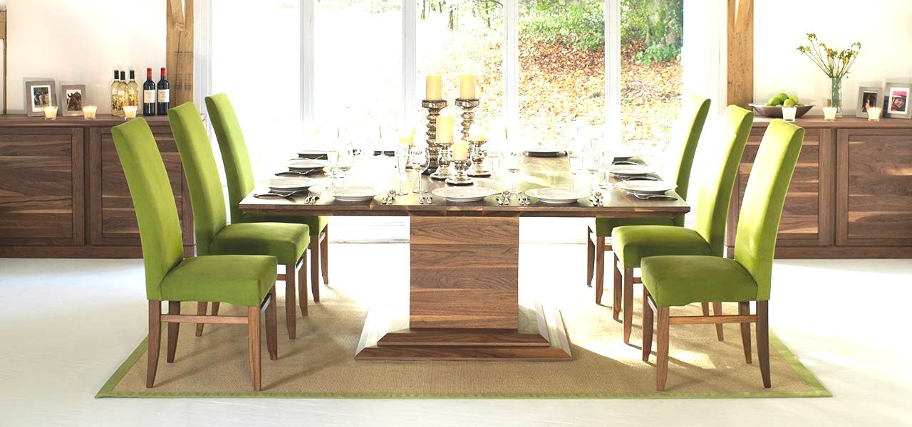8 Seater Dining Table New Square Tables In Solid Oak Walnut Throughout 8 Seater Wood Contemporary Dining Tables With Extension Leaf (View 3 of 25)