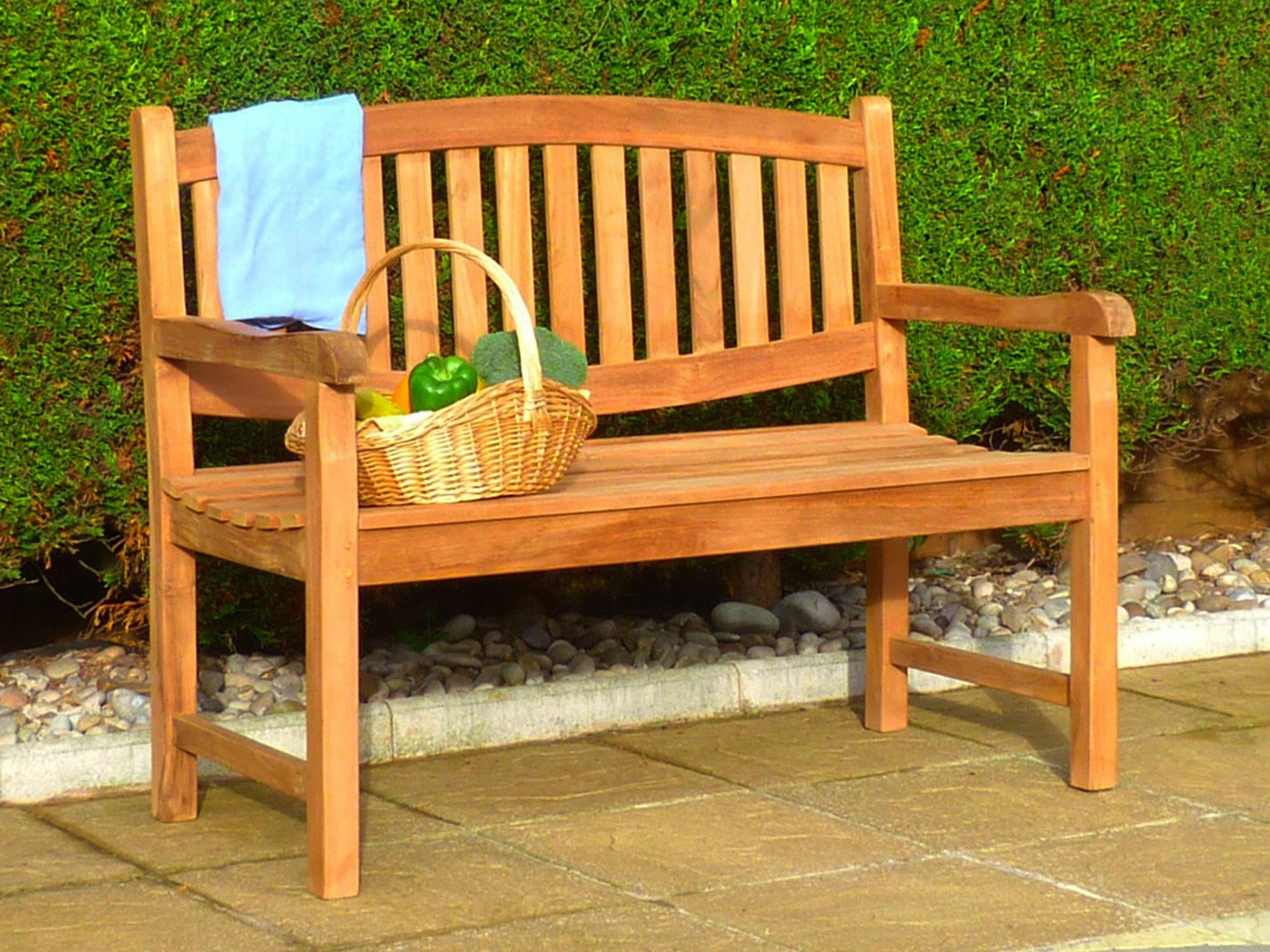 9 Beautiful Garden Benches With Space To Store | Carolina Intended For Wood Garden Benches (View 11 of 25)