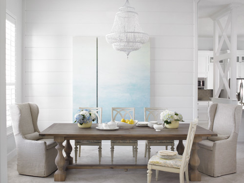A Buyer's Guide To The Dining Table Pertaining To Distressed Grey Finish Wood Classic Design Dining Tables (Image 1 of 25)