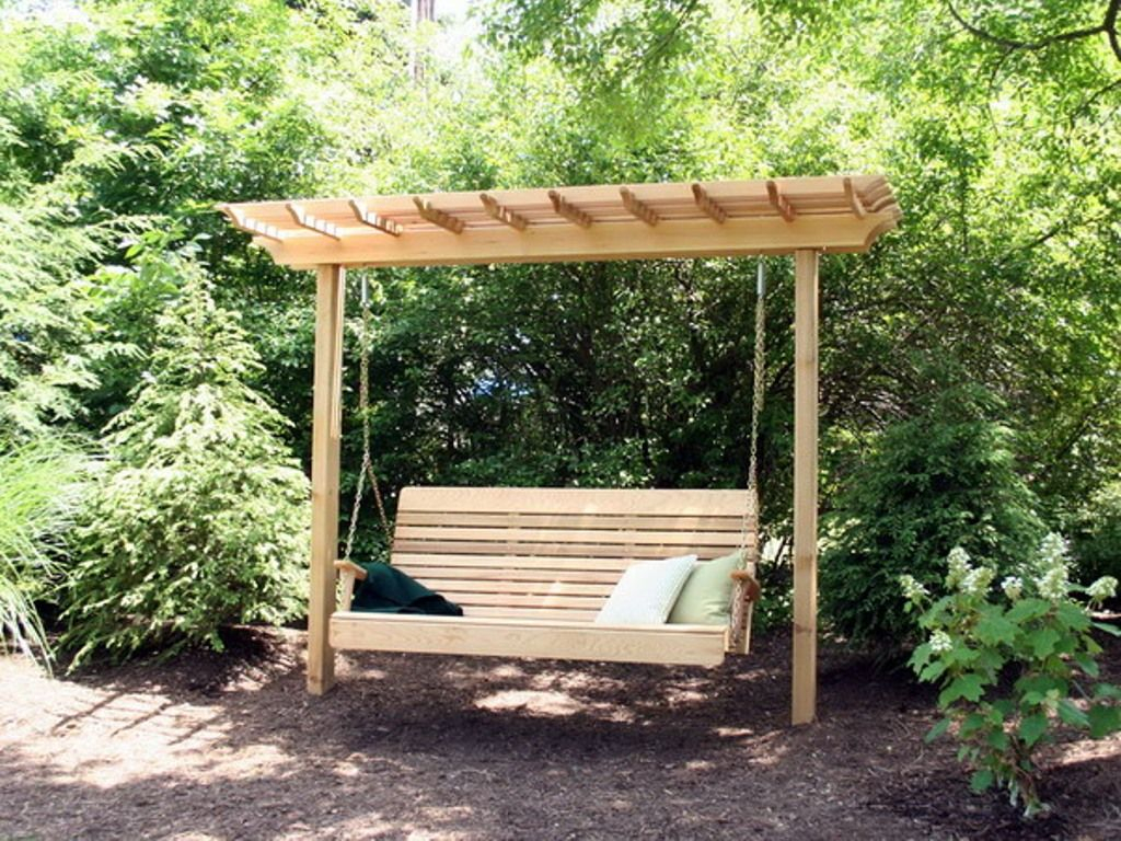 Featured Image of Pergola Porch Swings With Stand