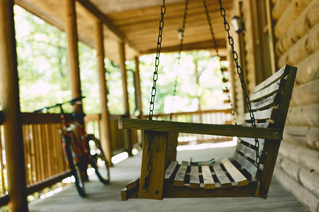 A Letter To The Old Porch Swing – Her View From Home Within Porch Swings (View 21 of 25)
