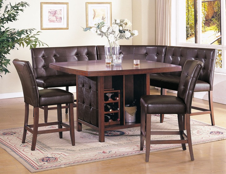 Acme Furniture Britney Casual Dining Room Collection Pertaining To Transitional 6 Seating Casual Dining Tables (Image 4 of 25)