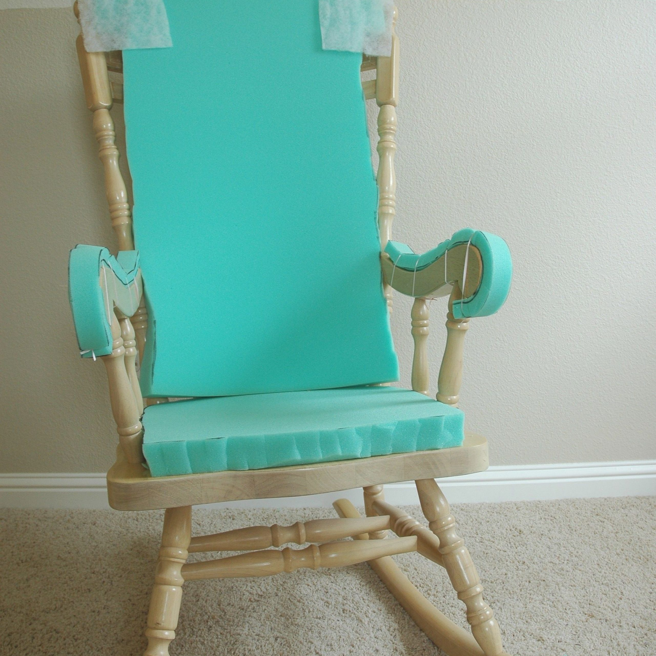 Adding Comfort To A Wooden Rocking Chair – Part One With Rocking Benches With Cushions (View 19 of 25)