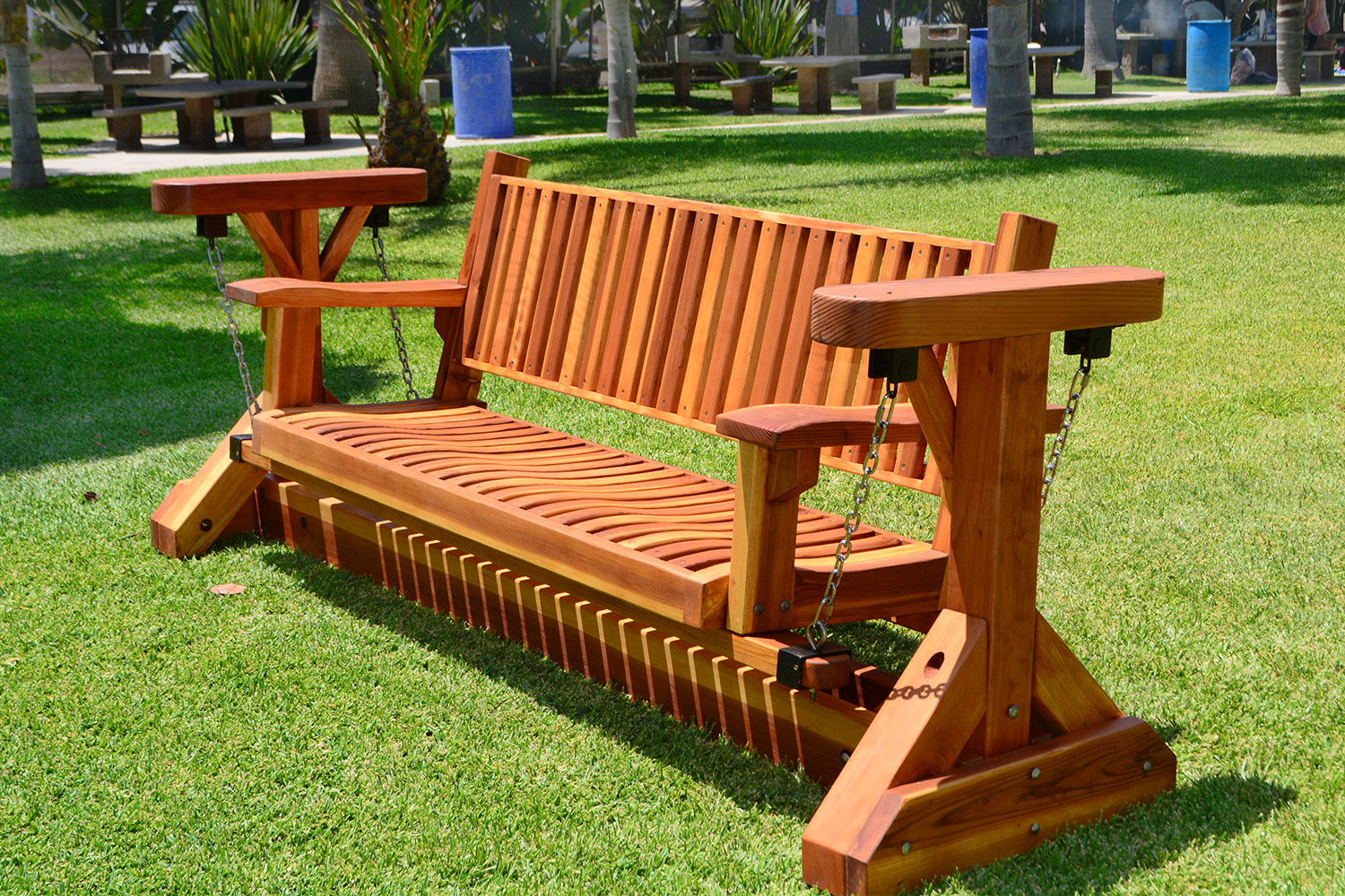 Adirondack Chain Gliders, Wood Adirondack Gliders For Classic Glider Benches (View 25 of 25)