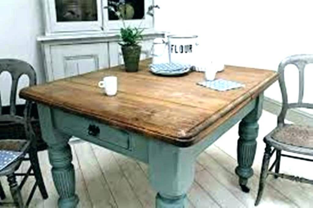 Agreeable Square Farmhouse Dining Table Plans Seat Small With Regard To Rustic Pine Small Dining Tables (View 23 of 25)