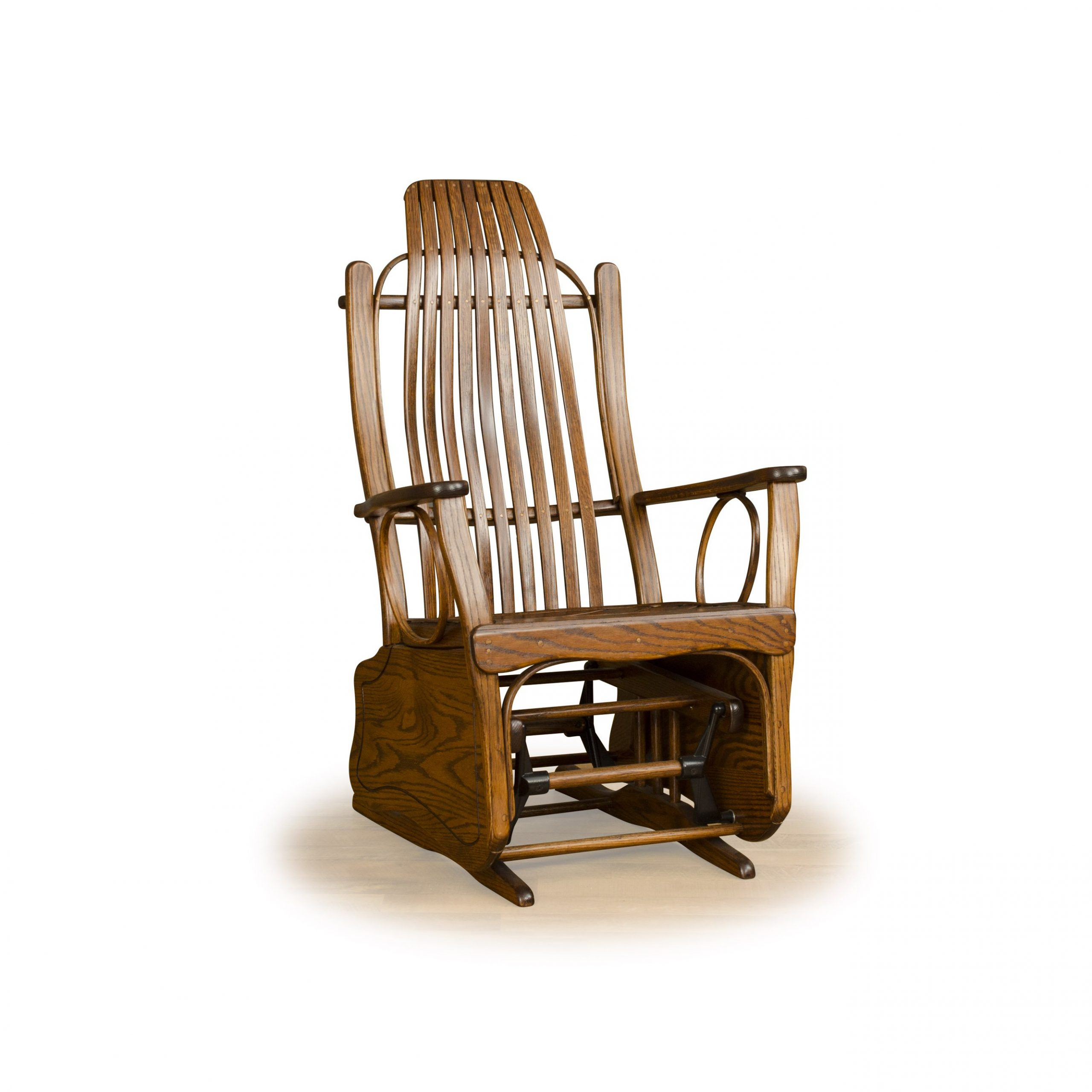 All About Byler's Rustic Furniture – Adirondack Furniture Inside Cedar Colonial Style Glider Benches (View 15 of 25)