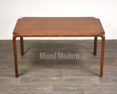 Alvar Aalto Mid Century Modern Fan Leg Dining Table | Ebay In Dining Tables With Stained Ash Walnut (Image 3 of 25)