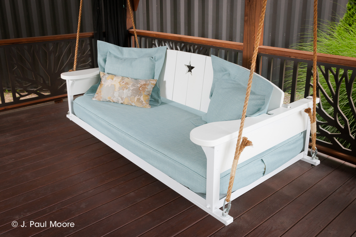 Americana Bed Swing – The Porch Company With Regard To Nautical Porch Swings (View 20 of 25)