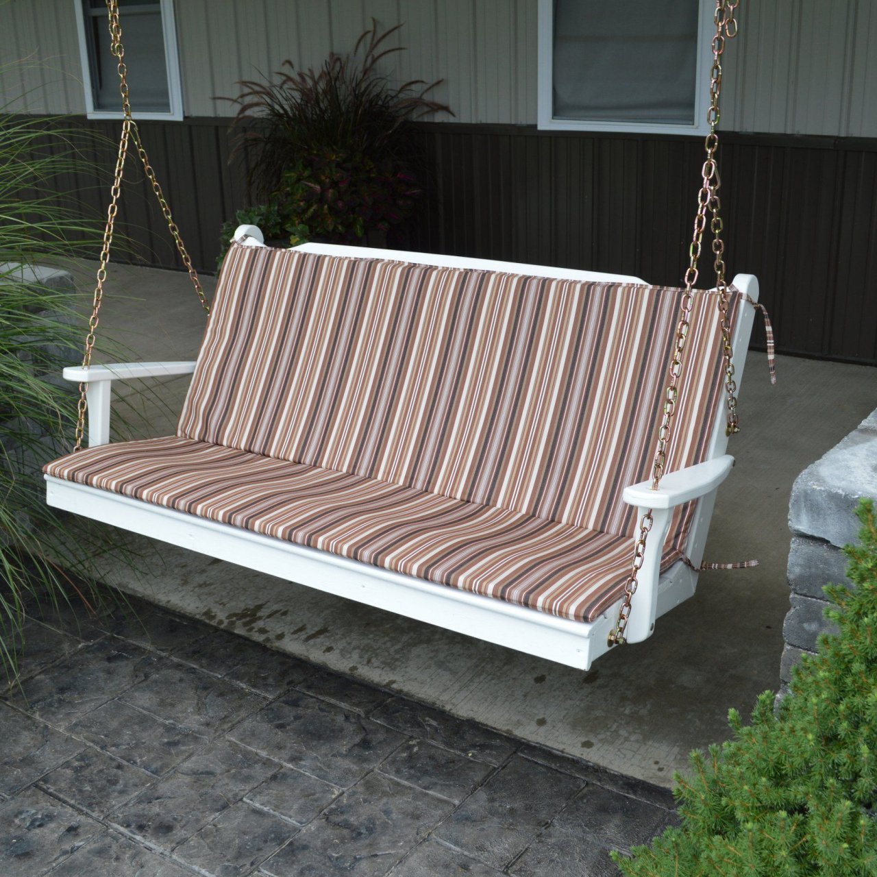 Amish Porch Swings — Procura Home Blog Intended For Classic Porch Swings (Image 7 of 25)