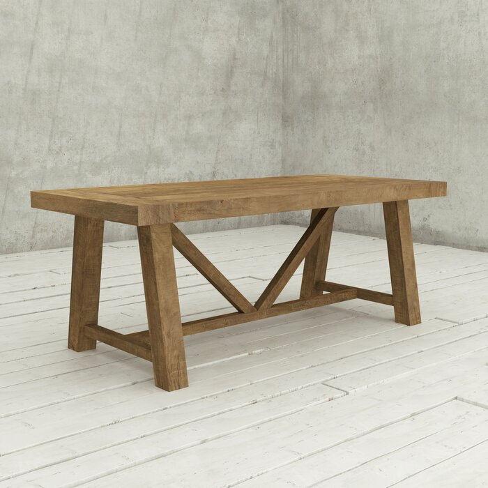 Ancona Dining Table With Regard To Transitional 8 Seating Rectangular Helsinki Dining Tables (View 14 of 25)