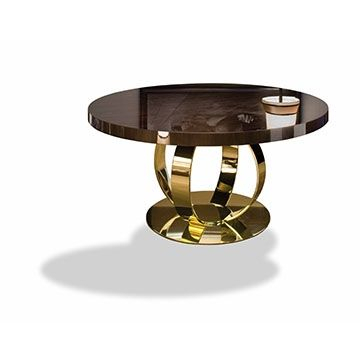 Andrew Dom Edizioni Furniture Dom Tables | Interior Supply Inside Dom Round Dining Tables (Image 1 of 25)