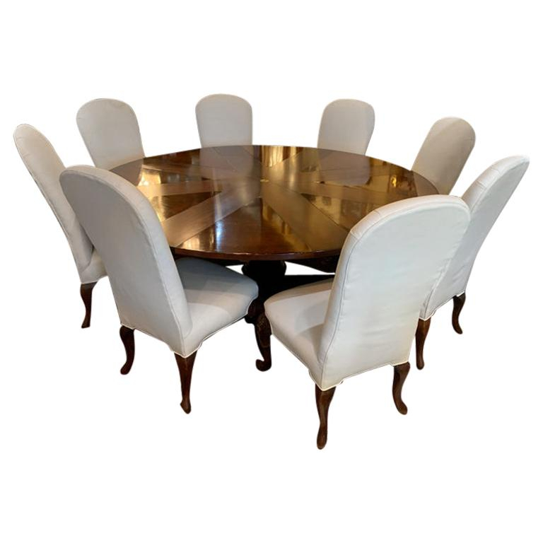 Antique And Vintage Dining Room Sets – 1,229 For Sale At 1Stdibs With Regard To Transitional 8 Seating Rectangular Helsinki Dining Tables (Image 6 of 25)