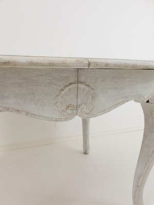 Antique Rococo Extension Dining Table Within Extension Dining Tables (View 9 of 25)
