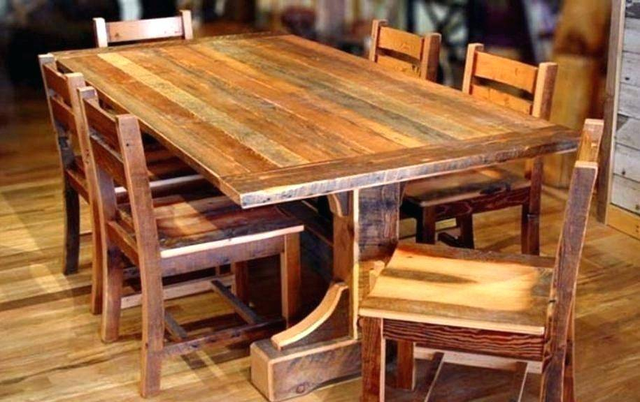 Appealing Small Reclaimed Wood Dining Table Round Kitchen Within Small Round Dining Tables With Reclaimed Wood (View 15 of 25)