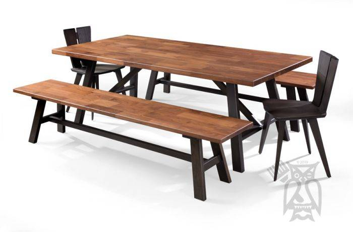 Appealing Walnut Dining Table Modern Scenic Inexpensive Inside Rustic Mid Century Modern 6 Seating Dining Tables In White And Natural Wood (View 20 of 25)