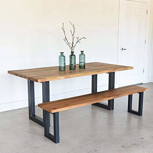 Appealing Wood Dining Table Metal Legs Round Wooden With Regard To Iron Wood Dining Tables With Metal Legs (View 7 of 25)