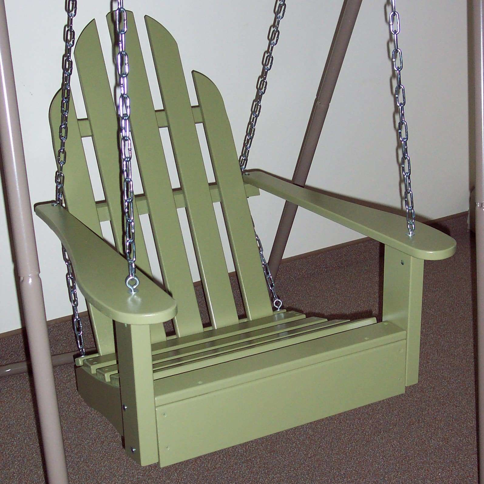 Arianna Hardwood Hanging Porch Swing With Stand | Porch In Hardwood Hanging Porch Swings With Stand (View 5 of 25)