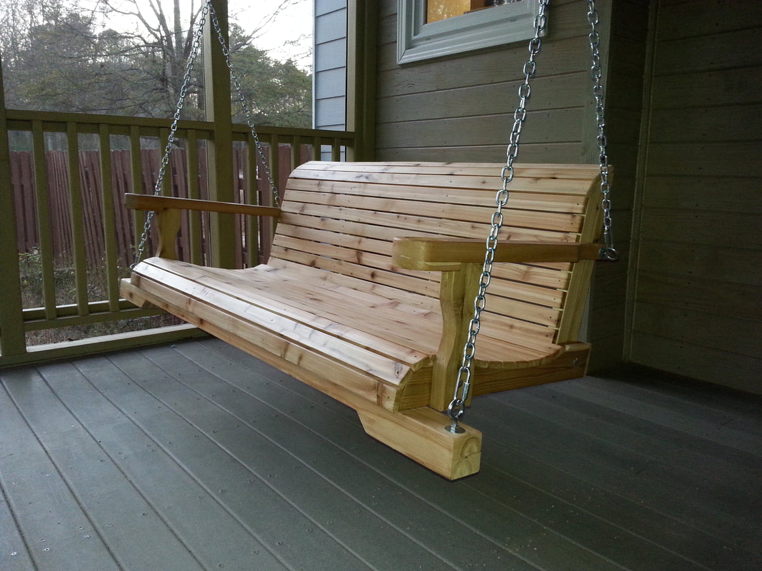 Atlanta Wooden Swings – Blog With Regard To Contoured Classic Porch Swings (View 13 of 25)