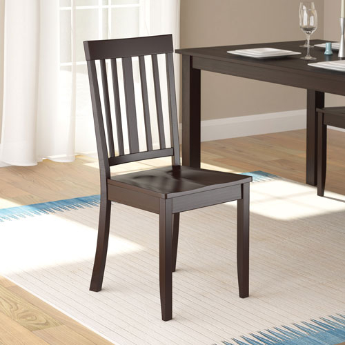 Atwood Transitional Dining Chair – Set Of 2 – Rich Cappuccino Regarding Atwood Transitional Square Dining Tables (View 15 of 25)