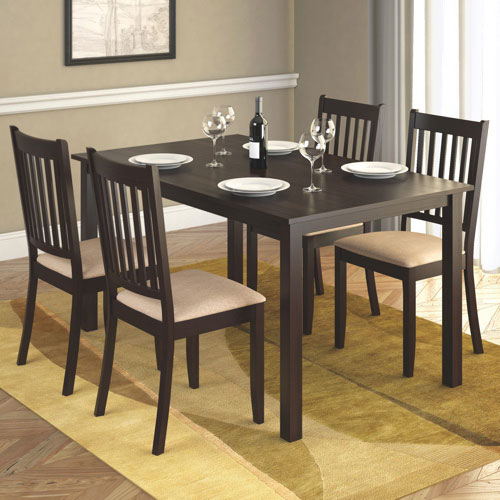 Atwood Transitional Rectangular Dining Table – Rich Cappuccino In Atwood Transitional Rectangular Dining Tables (View 3 of 25)