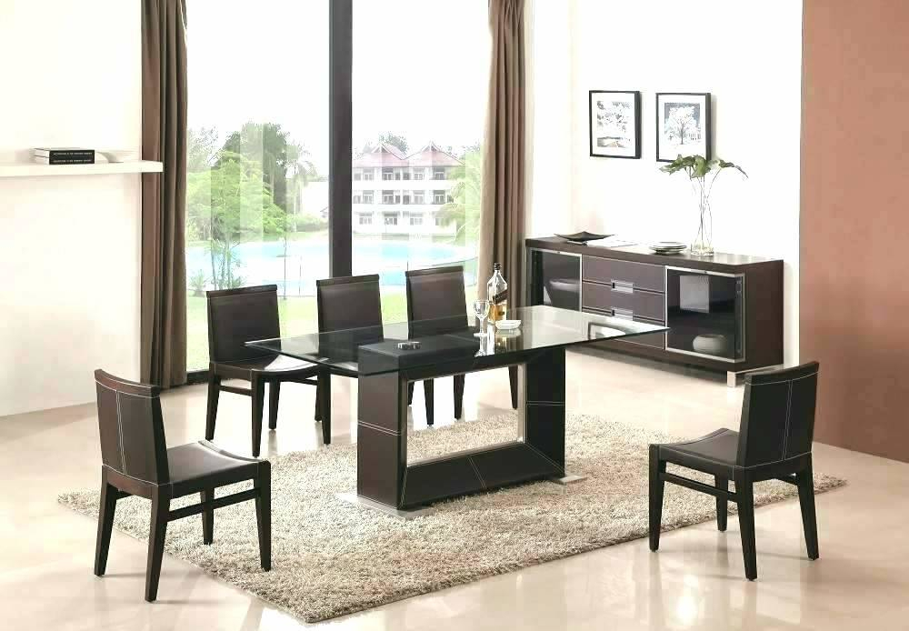 Awesome Modern Round Glass Top Dining Table Mid Century Regarding Modern Round Glass Top Dining Tables (Image 4 of 25)
