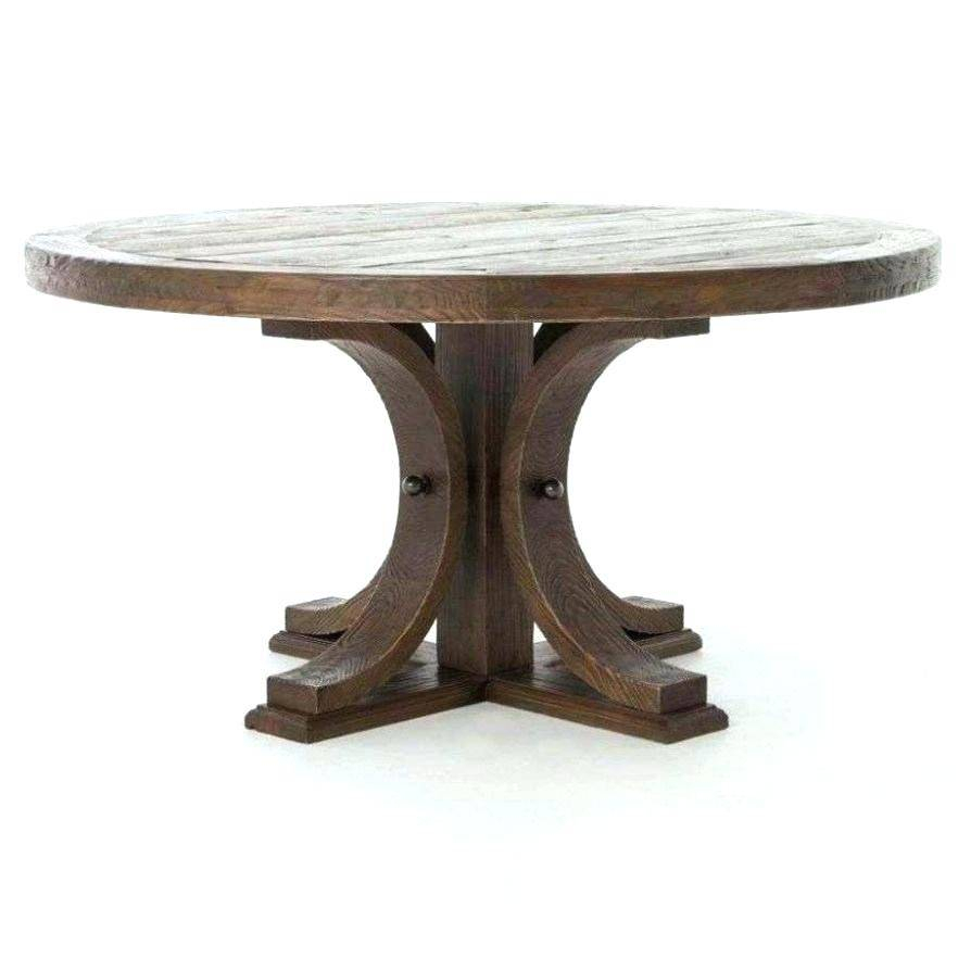 Banks Reclaimed Wood Extending Dining Table Hart Round Pertaining To Small Round Dining Tables With Reclaimed Wood (View 13 of 25)