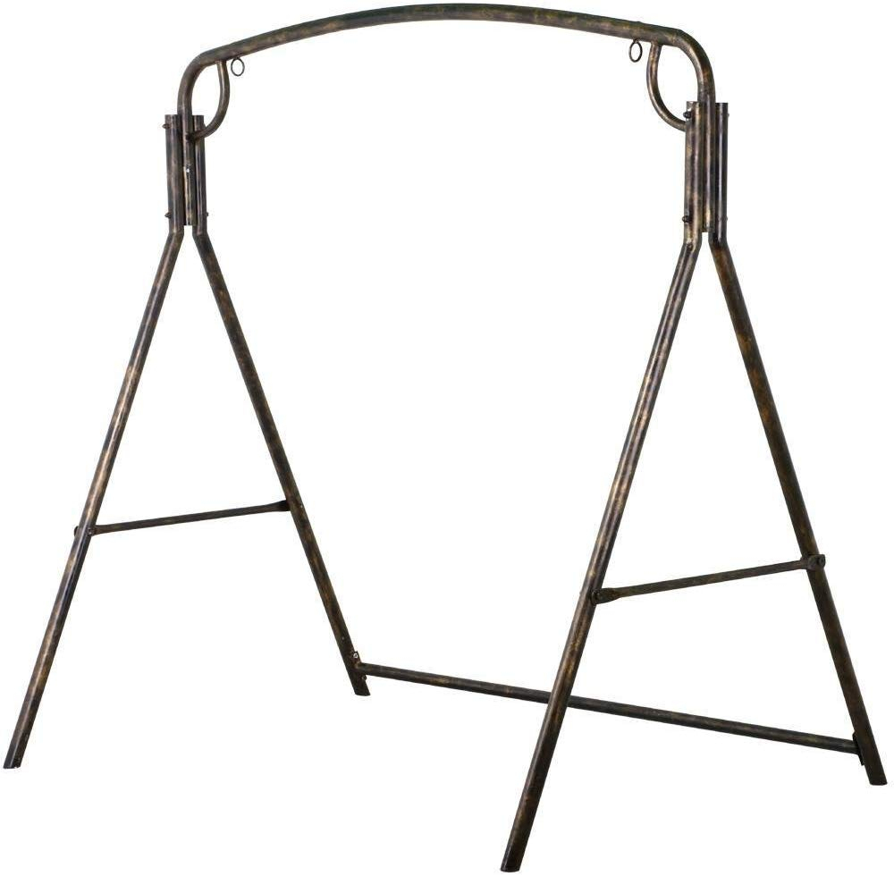 Battle Of The Metal Swing Stands – A Comparative Review Pertaining To 2 Person Antique Black Iron Outdoor Swings (View 21 of 25)