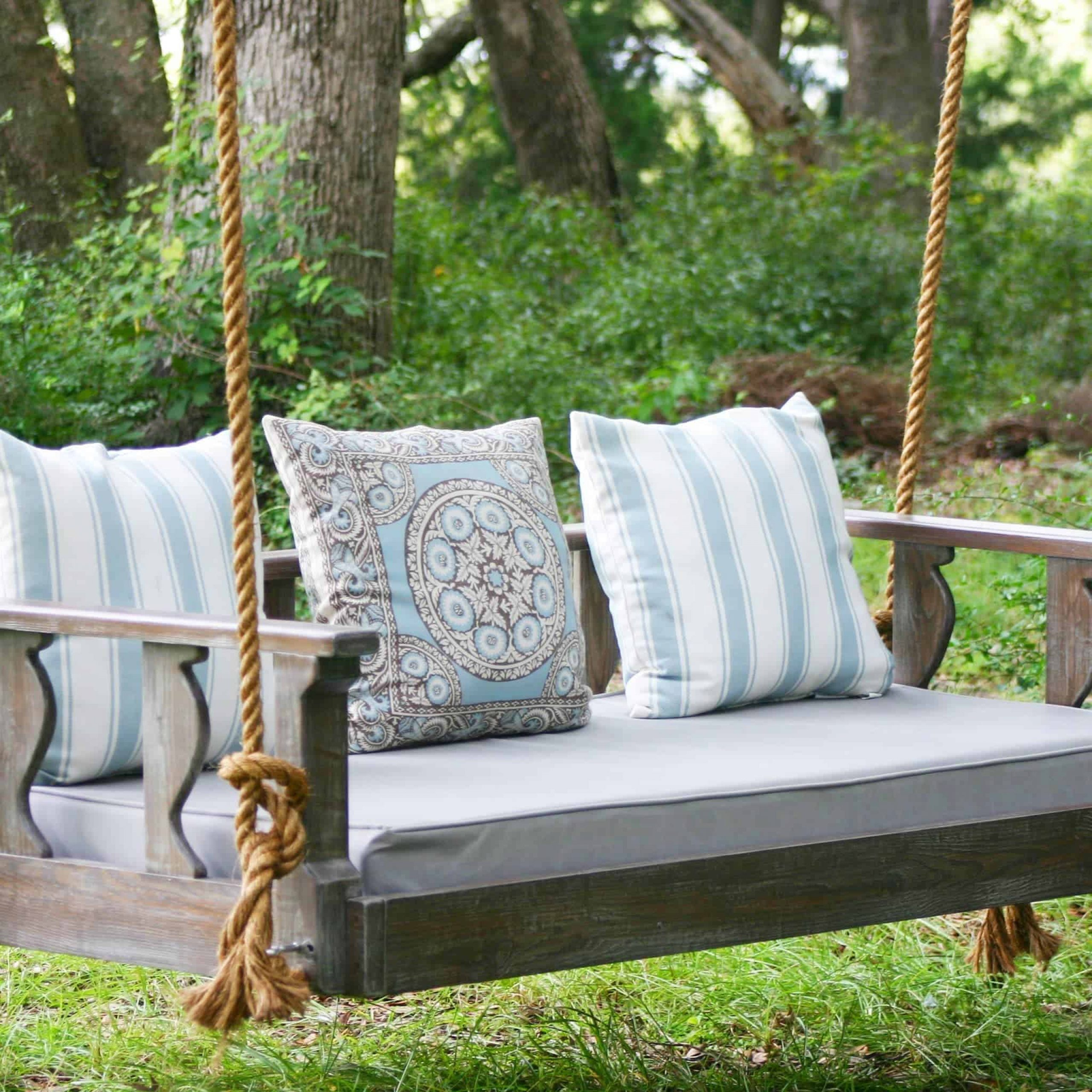Bed Swings And Porch Swings, Handmadevintage Porch Swings With Regard To Hardwood Hanging Porch Swings With Stand (View 17 of 25)