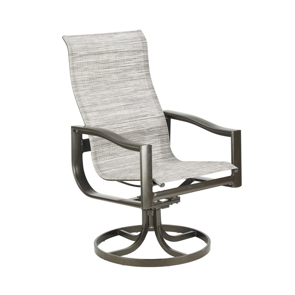Belvedere Sling Ultimate High Back Swivel Tilt Chair Within Padded Sling High Back Swivel Chairs (View 16 of 25)