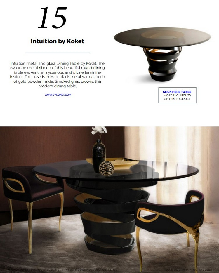 Best 10 Dining Room Ideas You Wish To Have – Modern Dining Intended For Smoked Oval Glasstop Dining Tables (View 18 of 25)