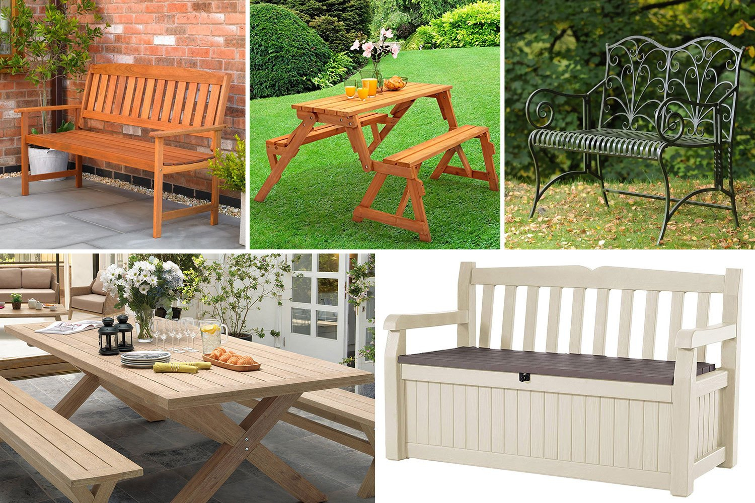 Best Garden Bench 2019: From Wooden To Metal Designs, With With Wood Garden Benches (View 17 of 25)
