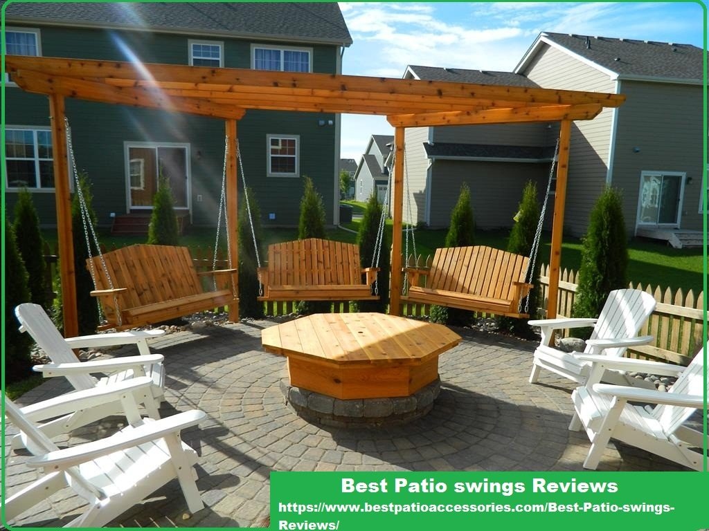 Best Porch Swing Reviews | Comfortable And Luxurious Patio Intended For 3 Person Natural Cedar Wood Outdoor Swings (View 10 of 25)