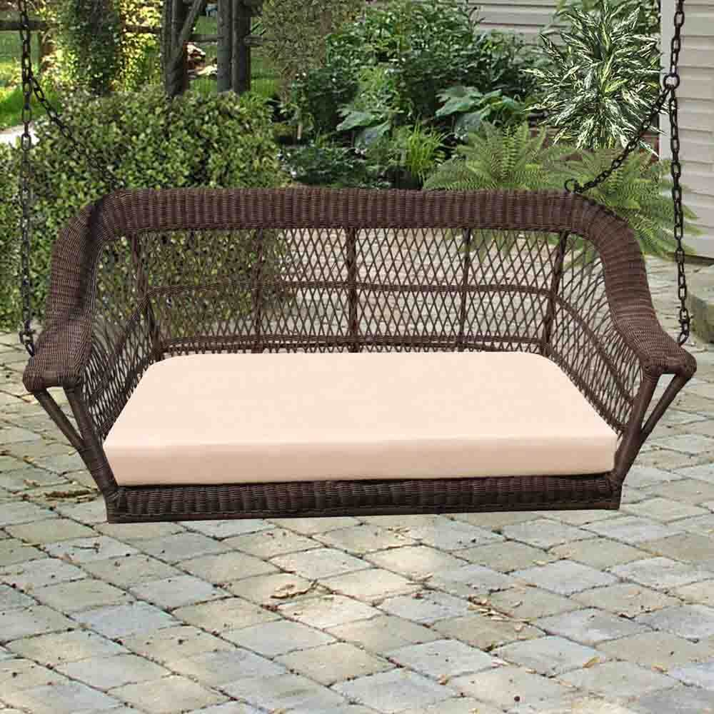 Best Porch Swing Reviews & Guide | The Hammock Expert Inside Wicker Glider Outdoor Porch Swings With Stand (View 14 of 25)
