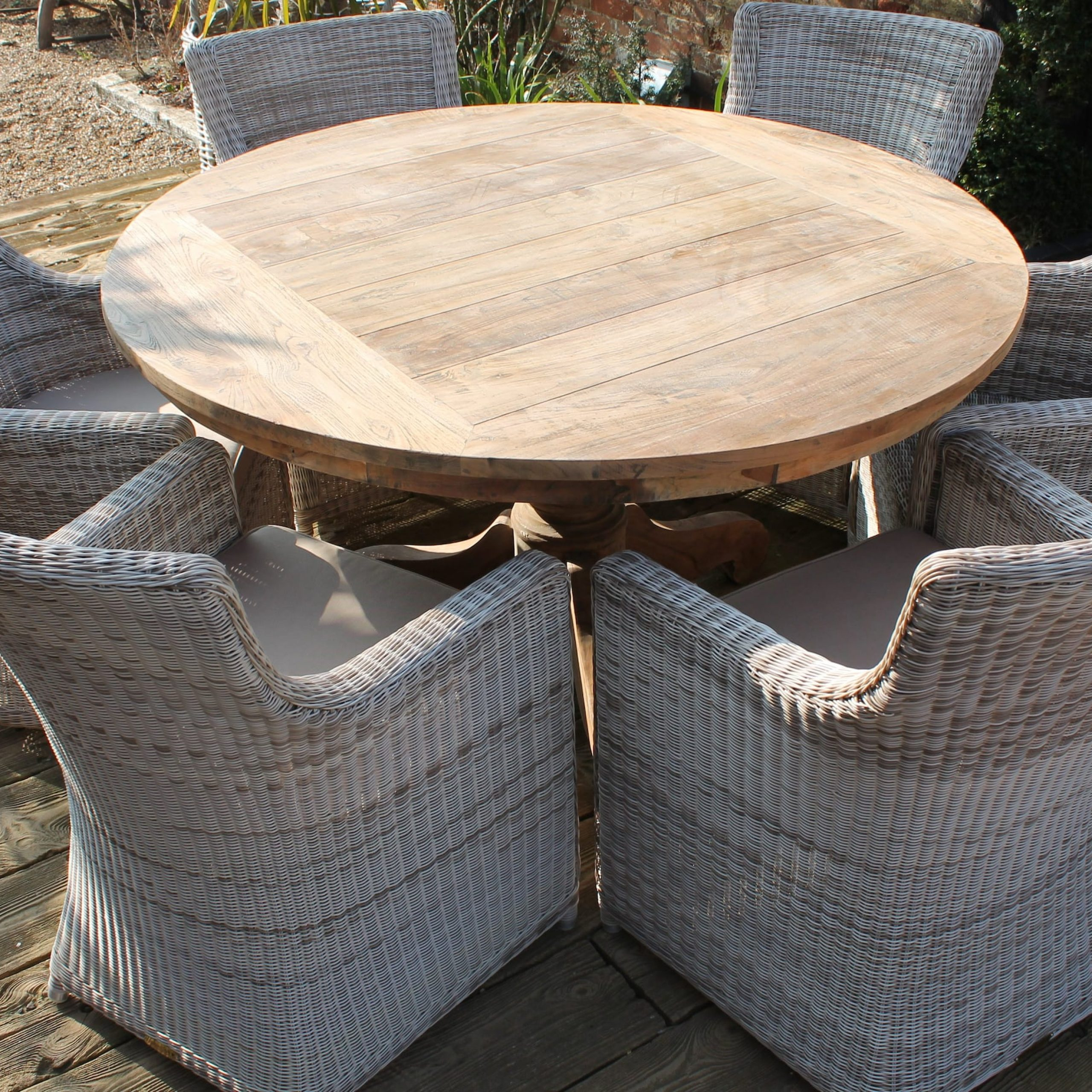 Best Rattan Garden Furniture – And Where To Buy It | The For Outdoor Wicker Plastic Half Moon Leaf Shape Porch Swings (View 14 of 25)