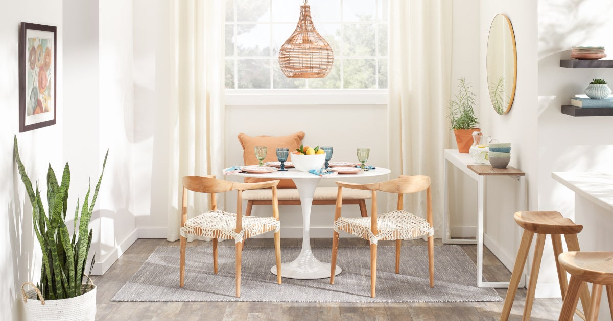 Best Small Kitchen & Dining Tables & Chairs For Small Spaces Pertaining To Contemporary 4 Seating Square Dining Tables (View 18 of 25)