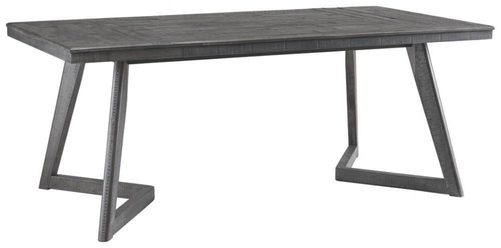 Besteneer – Dark Gray – Rectangular Dining Room Table Pertaining To Rectangular Dining Tables (View 9 of 25)