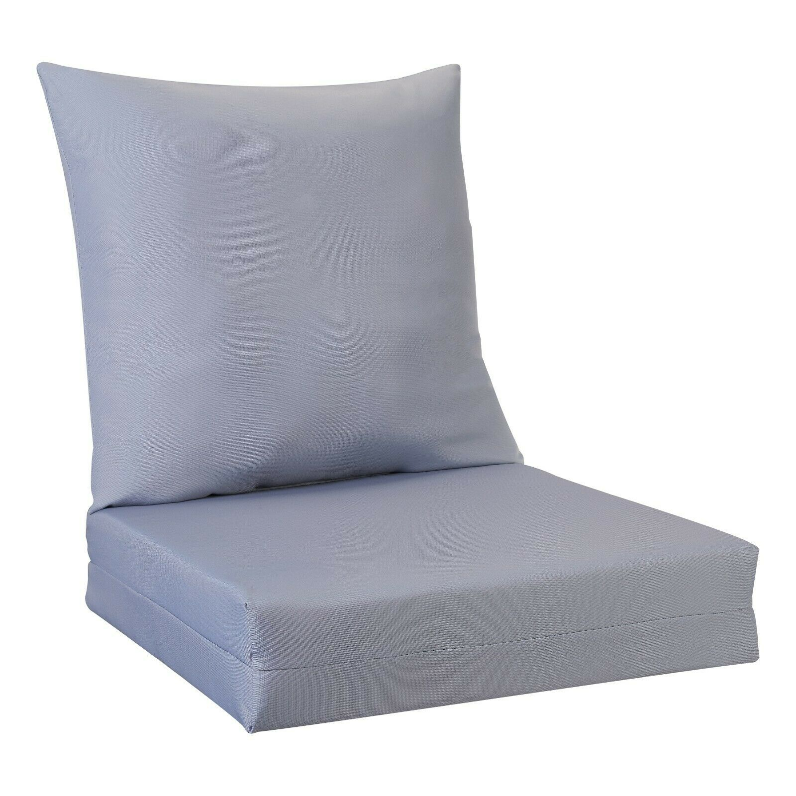 Better Homes And Gardens Solid Deep Seat Cushion Set – Grey With Regard To Cushioned Glider Benches With Cushions (View 15 of 27)