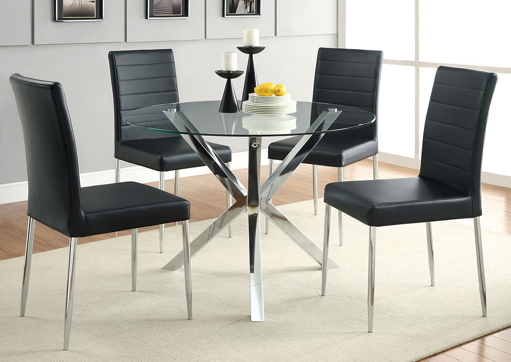 Big Box Furniture | Discount Furniture Stores In Miami Throughout Chrome Contemporary Square Casual Dining Tables (View 25 of 25)